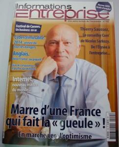 magazine informations entreprises