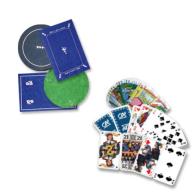 objets publicitaire jeu de carte et tapis
